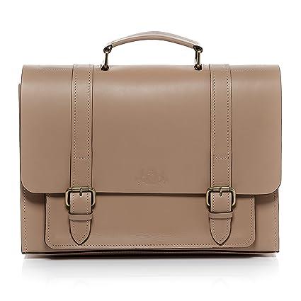 SID   VAIN real leather briefcase BRISTOL Large office laptop business bag  15 inch Laptop portable af8fd693b5320