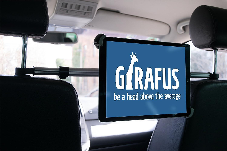 9 10 11 Zoll Breite zwischen 4,5-8cm Girafus Relax H3 Geniale Tablet /& Smartphone Kfz Auto Halterung f/ür R/ücksitz f/ür Tablets /&iPhone iPad Galaxy Halter /…