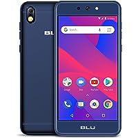 BLU Advance 5.2 HD - GSM Unlocked Smartphone, 16Gb+1Gb Ram -Blue