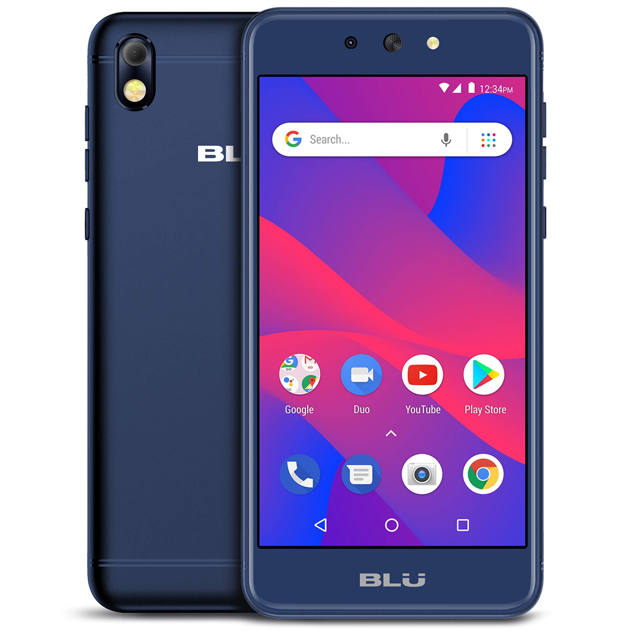 BLU Advance 5.2 HD - GSM Unlocked Smartphone, 16Gb+1Gb Ram -Blue by BLU