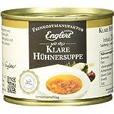 ENGLERT Klare Hühnersuppe/Dose, 4er Pack (4 x 200 ml)
