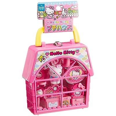 Muraoka (Muraoka) Hello Kitty Petite House - Compact Set with Complete Setup for Tea Parties: Toys & Games