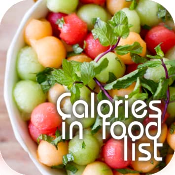 Amazon Calories In Food List Appstore For Android