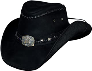 Bullhide Hats Thunder Struck Leather Western Cowboy Hat 4013BL 7801554ce984