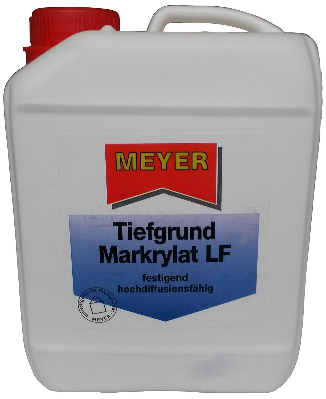 Meyer unas Razón Mark Exteriores LF 10L - sin disolvente Seguridad Imprimación, inodoro, festigend, secado rápido.: Amazon.es: Bricolaje y herramientas