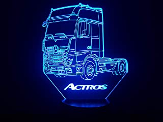 LKW MERCEDES ACTROS, 3D-Lampe LED