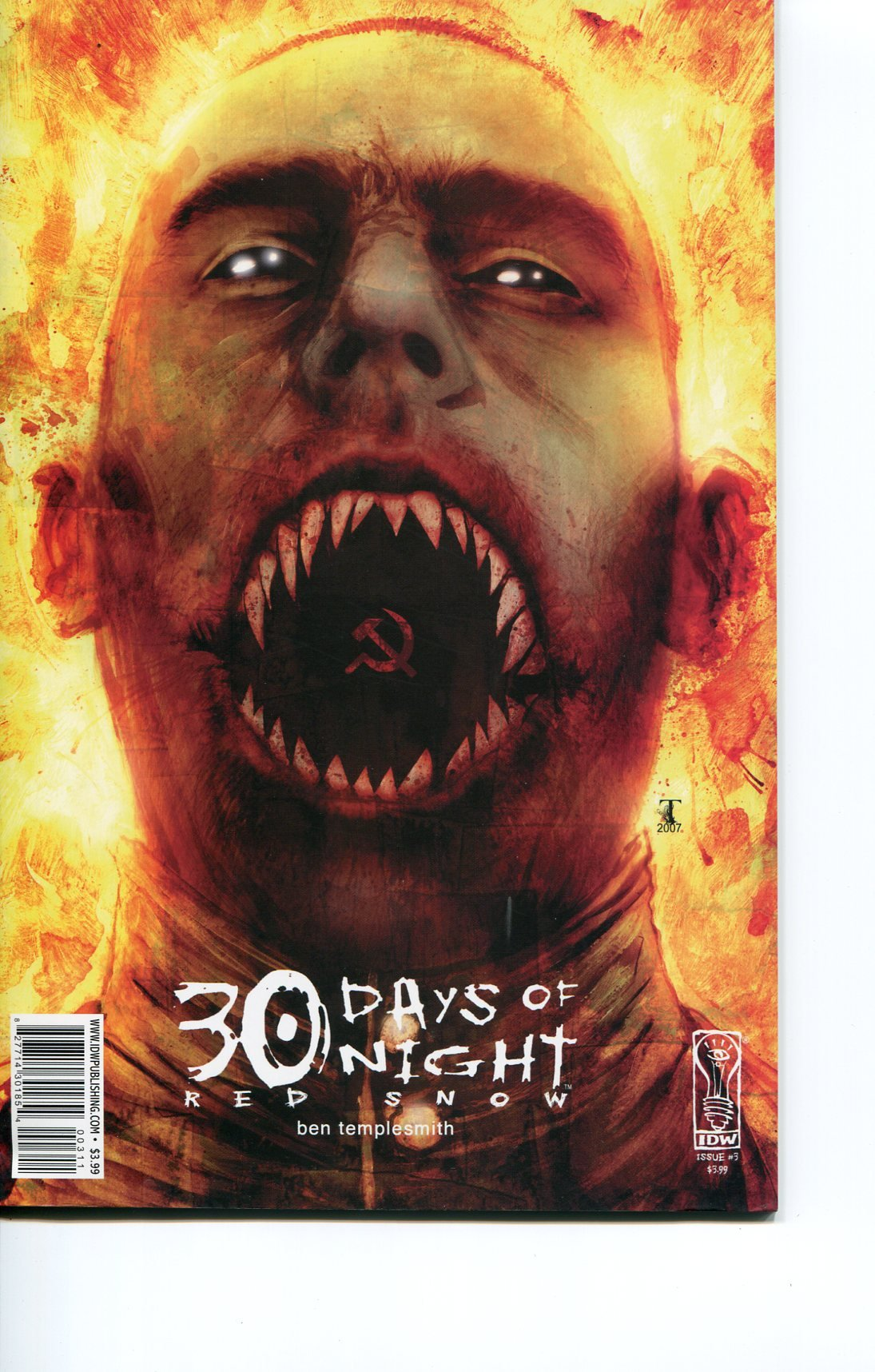 30 DAYS OF NIGHT RED SNOW #3 ((VOL. 1 2007)) PDF