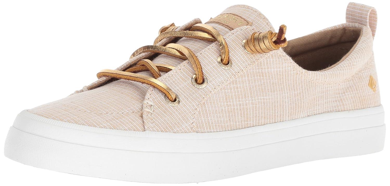 Sperry Top-Sider Women's Crest Vibe Metallic Novelty Sneaker B07888LQ3N 10 B(M) US|Gold