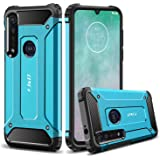 J&D Case Compatible for Motorola Moto G8 Plus Case, Heavy Duty ArmorBox Dual Layer Shock Resistant Hybrid Protective Rugged C