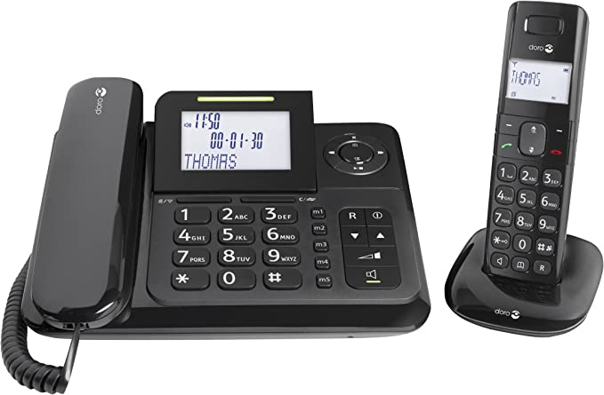 Doro Comfort 4005 - Teléfono (50 entradas, 66 x 40 mm (2.6 x 1.575