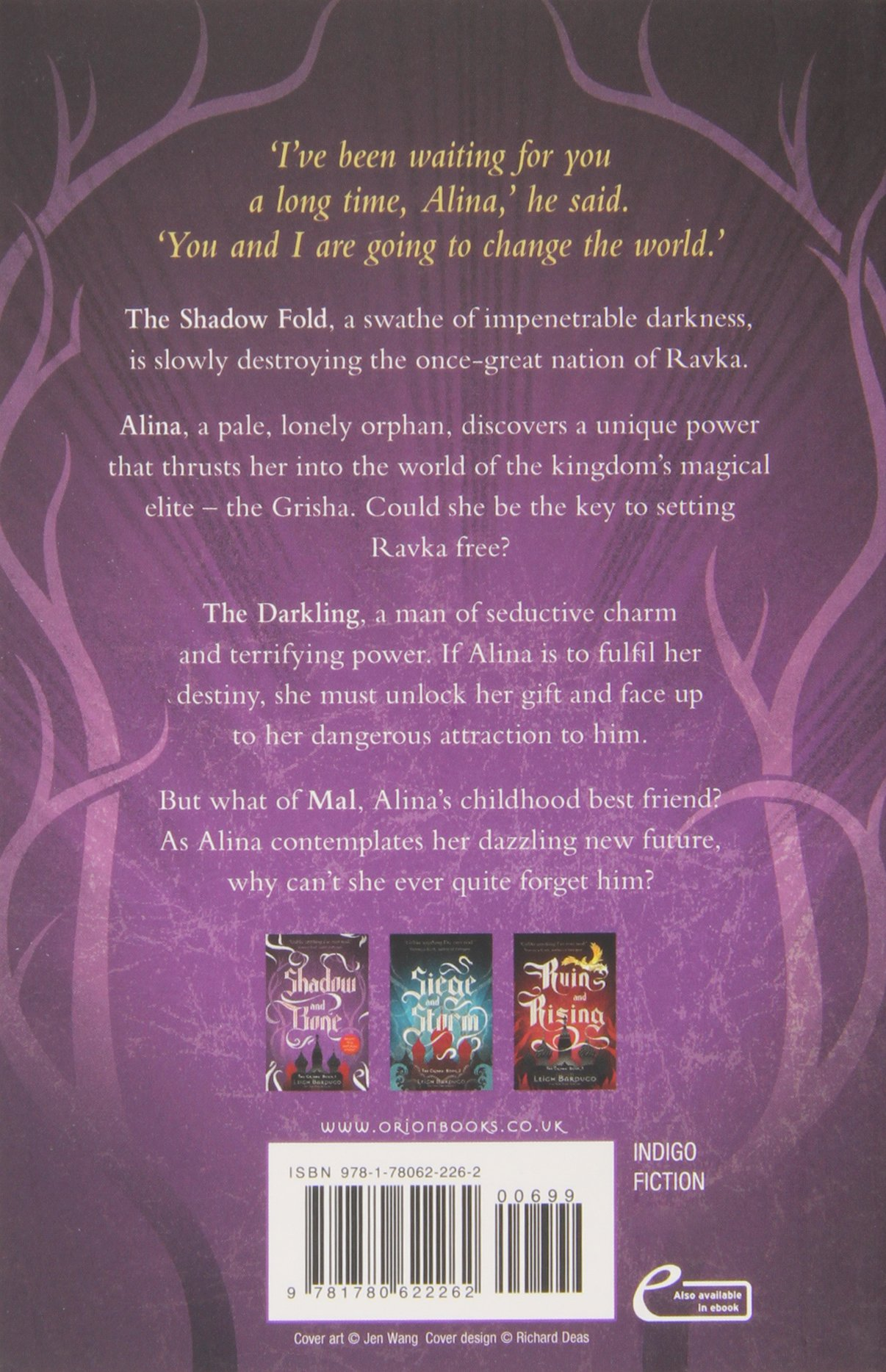 The Grisha: Shadow And Bone: Book 1: Amazon: Leigh Bardugo:  9781780622262: Books