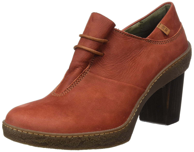 El Naturalista Nf70 Pleasant Lichen, zapatos de tacón con Punta Cerrada para mujer rojo (Caldera)