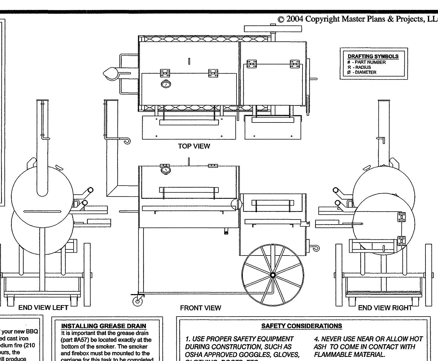 Amazon 32 x 20 bbq smokerpit grill plans blueprints amazon 32 x 20 bbq smokerpit grill plans blueprints model sp 1301 automotive malvernweather Choice Image