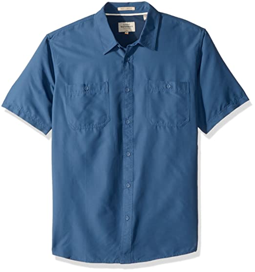 eae767dd436 Quiksilver Men s Wake Solid UPF 50+ Sun Protection Shirt  Amazon.in   Clothing   Accessories