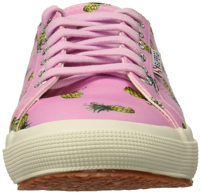 Superga Women's 2750 Satinfantw Sneaker B078KB3NT5 38 M US|Pink/Multi