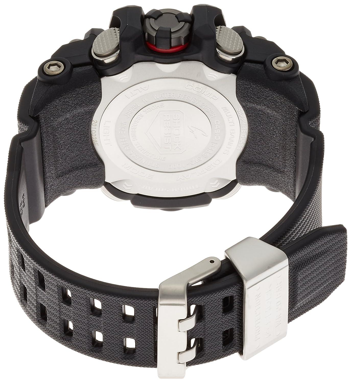 Casio G Shock Mudmaster Gwg 1000 1ajf Mens Japan Import Jam Tangan Dobel Time Tahan Air Black Watches