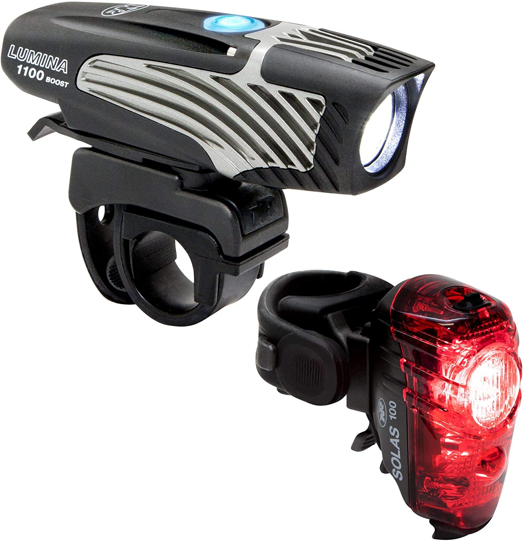 NiteRider Lumina 1100 Boost and Solas 100 Combo