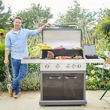 Jamie Oliver Barbacoa de gas (Pro 4: Amazon.es: Jardín