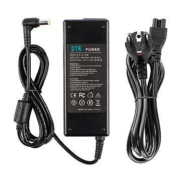 DTK® Computadora portátil Cargador Fuente de alimentación Adaptador Unidad de alimentación para portátil ACER Output: 19V 4.74A 90W Cargadore y adaptadore ...