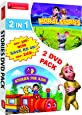 2 in 1 Stories for Kids (2 DVD Pack)