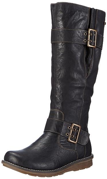 Remonte Dorndorf Women's R1073 Boots Black Schwarz (asphalt/02) 4
