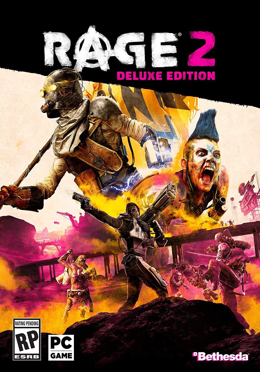 Amazon com: Rage 2 - PC Deluxe Edition [Amazon Exclusive