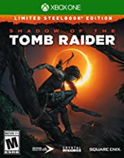 Shadow of the Tomb Raider Limited Steelbook Edition for Xbox One