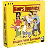 USAOPOLY Bob's Burgers: Belcher Family Food Fight Board Game   Fast-Paced Dice Game to Clear Your Plate   Featuring Custom Bo
