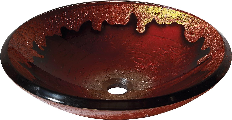 強化ガラスシンク GVE460GL Gold Lava Gold Lava B004GTMYFU