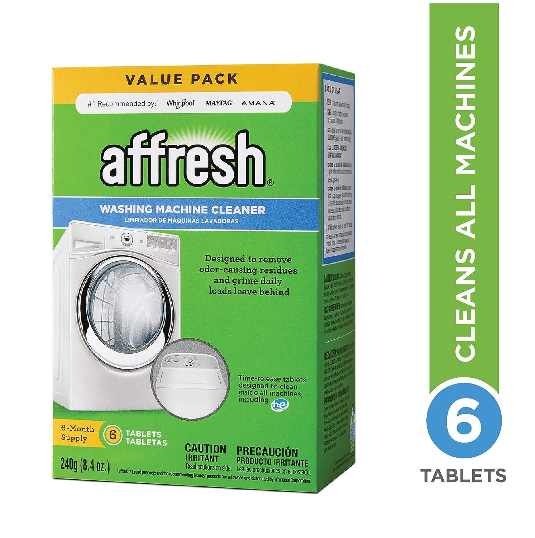 Affresh Washer Machine Cleaner, 6-Tablets, 8 4 oz
