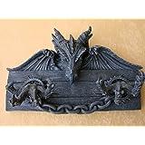 Plaque magie de style gothique motif dragon 31 cm