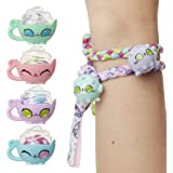 Kitten Catfé Meowble Yarn Ball Bracelet 4 Pack, Cat Ball Charms & Clasps Hidden in A Ball of Yarn to Create Your Own…