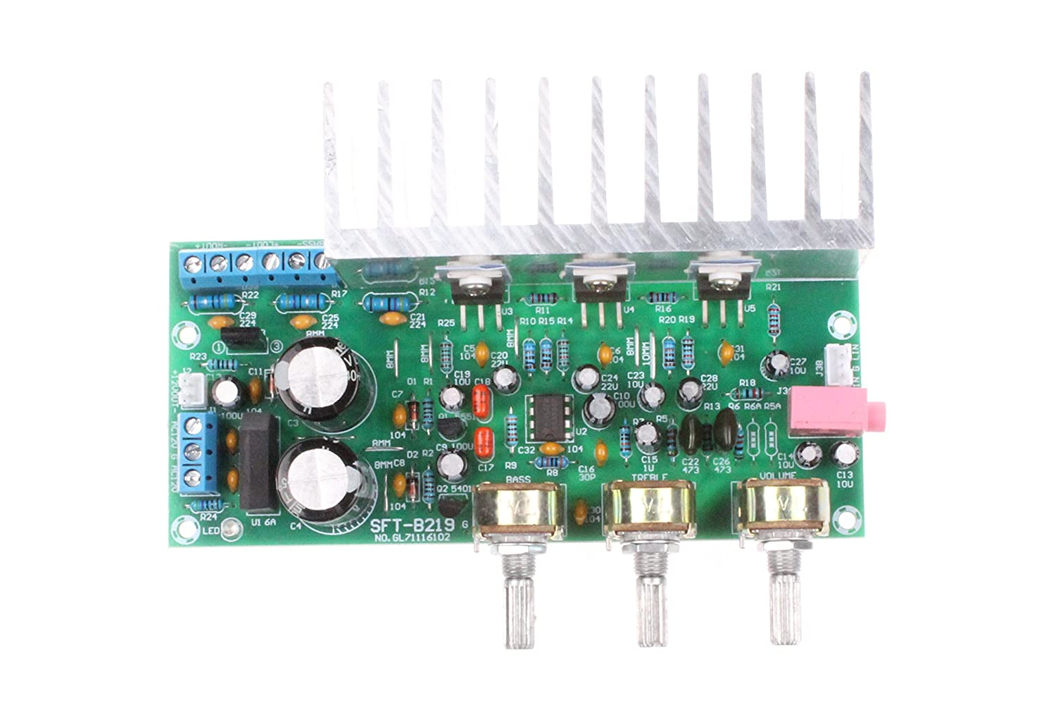 Noyito Tda2050 Tda2030 Ne5532 21 3 Channel Hi Fi And Cheap Audio Systems 32w Amplifier Circuit Diagram Subwoofer Board 18w Compatible With Lm1875 Musical Instruments