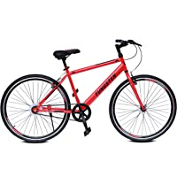 Bicycle Single Speed 700c/28inch Wheel Size Hybrid Tungsten Bikes Light Weight Cycle with Double Wall Alloy Rims