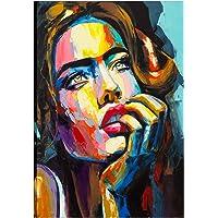 KALABULA Stampa su Tela Decorativa Quadro Cm 50x70 Canvas Poster Tema Persona Personaggi Donna Pop Art Nudo Artistico Arte TELPE-03