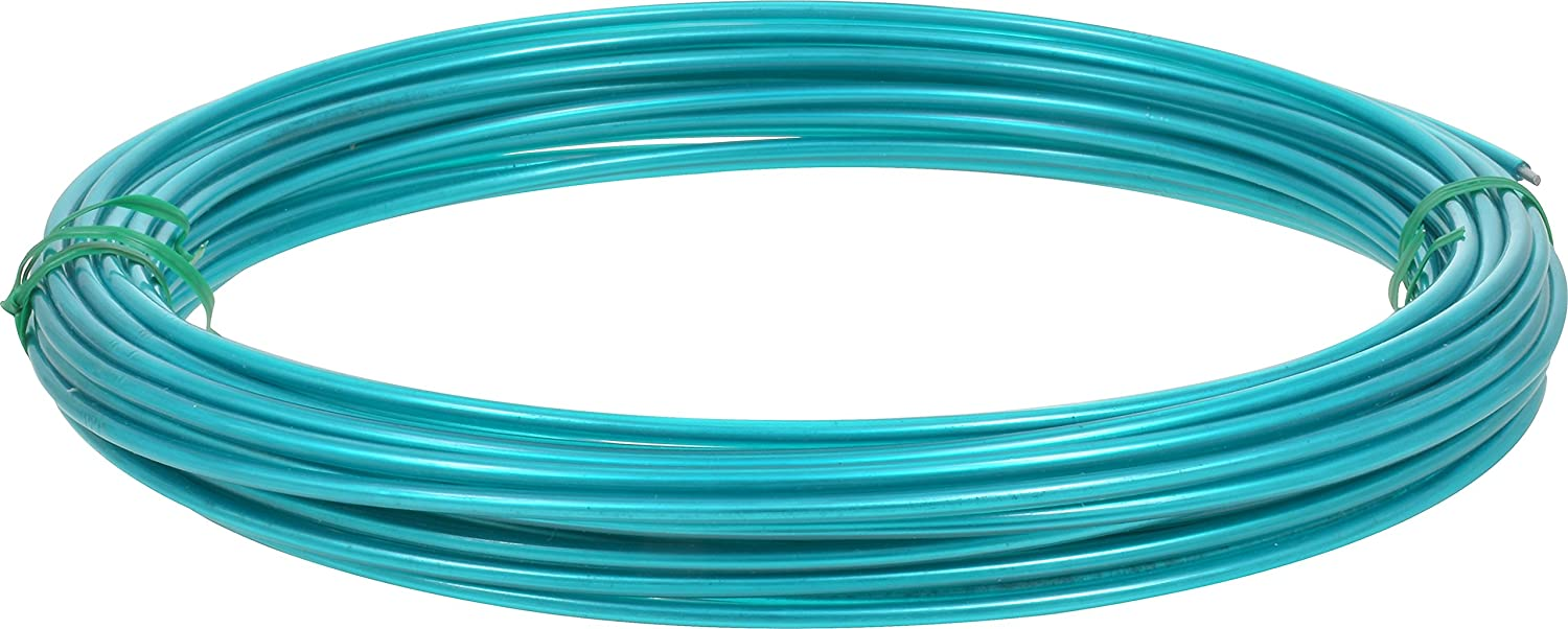 Amazon.com: Hillman Green Plastic Coated Steel Wire for Clothesline ...