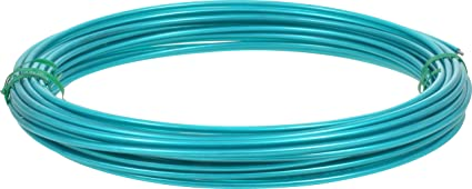 Coated Wire | Amazon Com Hillman Green Plastic Coated Steel Wire For Clothesline
