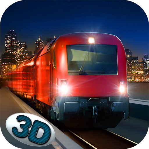 - Night City Train Driving Simulator: Passenger Pickup | Speed Bullet Public Transport Heavy Vehicle Delivery Dash