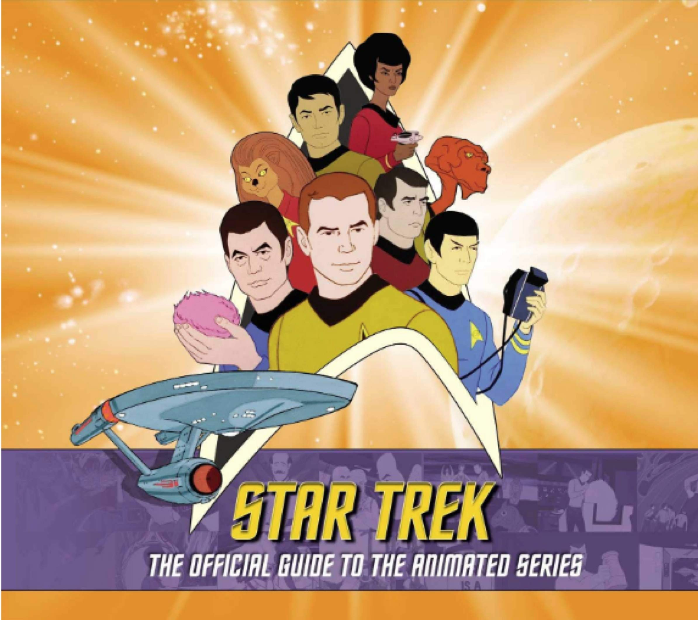 Star Trek: The Official Guide to the Animated Series: Aaron Harvey, Rich  Scheips: 9781789093650: Amazon.com: Books