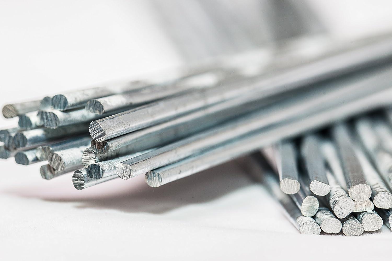 DURAFIX® - 40 Varillas para soldar aluminio + 1 Cepillo inoxidable ...