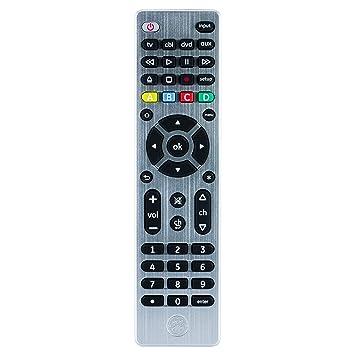 Amazoncom Ge 4 Device Universal Remote Smart Tvs Lg Vizio Sony