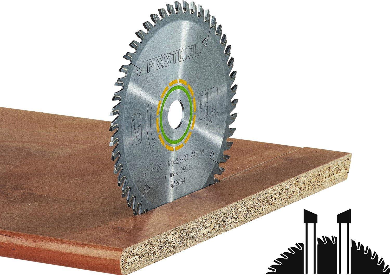 Saxton TCT Circular Holz Sageblatt 160 mm x 20 x 48T fur Festool TS55,...