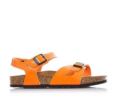 Birkenstock Kids Girls' RIO BF LACK Sandals: Amazon.co.uk