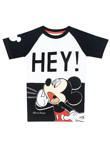c0470fc8c Disney Mickey Mouse - Camiseta para Niño - Mickey Mouse: Amazon.es: Ropa y  accesorios