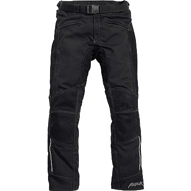 47634173b0fa Mohawk Pantalon de Moto Pantalon de Moto Cuir/Textile 2.0 Noir S, Hommes,