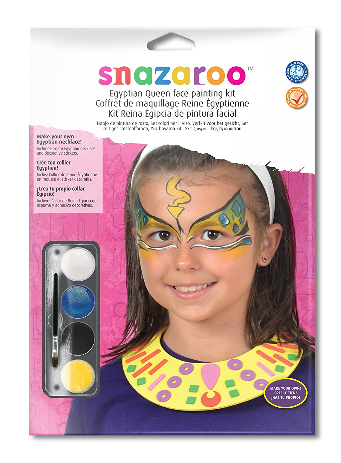 Amazoncom Snazaroo Egyptian Queen Role Play Face Painting Kit