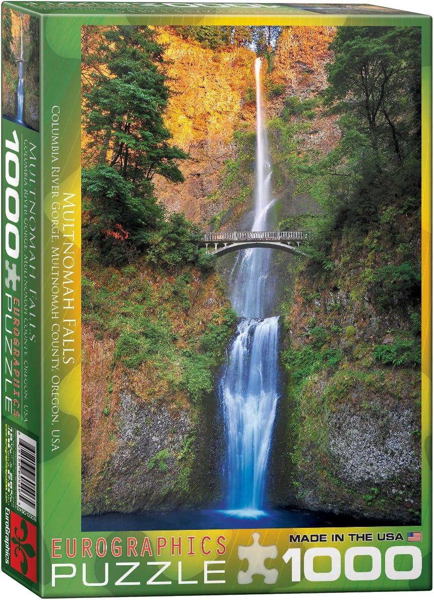 EuroGraphics Multnomah Falls, Oregon Puzzle (1000-Piece) (6000-0546)