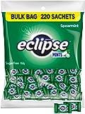 Eclipse Spearmint Sugarfree Mints, 220 Single Serve Sachets