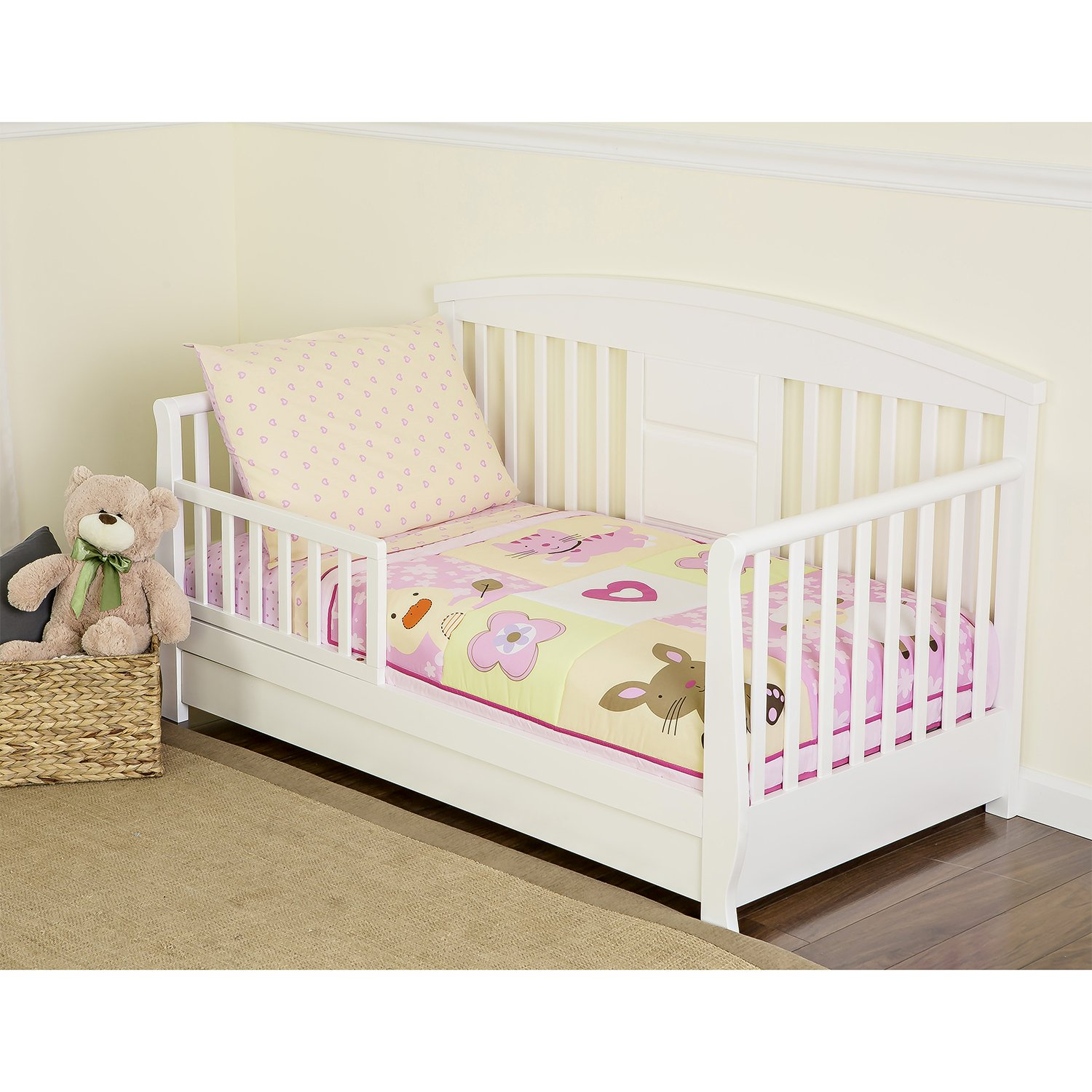 Dream On Me 4 Piece Toddler Beddingセット、Naptime Friends   B00PRX6GL2