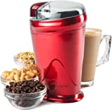 Andrew James Coffee, Nut and Spice Grinder, Red, 150W